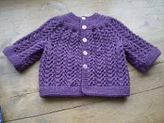 ravelry baby sweater on two needles february pattern by