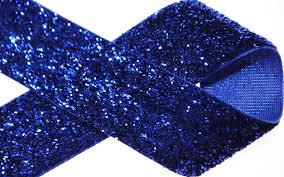 royal blue ribbon 1 royal blue glitter ribbon superb supplies