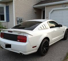 white mustang 2006 purchase used 2006 mustang gt performance white roush kit runs