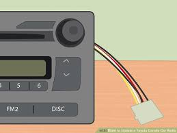 Add Usb Port To Car Stereo 3 Ways To Update A Toyota Corolla Car Radio Wikihow