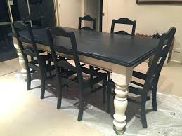 kitchen table refinishing ideas chalk paint for kitchen table best painted pedestal tables ideas