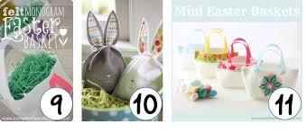 easter bags top 10 diy easter baskets weallsew