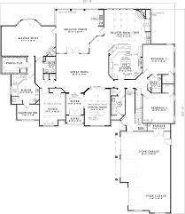 Corner House Floor Plans Master Suite With Corner Fireplace 59798nd Architectural