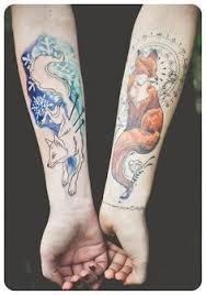 watercolor fox tattoos google search tattoo ideas pinterest