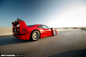 how many f40 are left a f40 miami style speedhunters