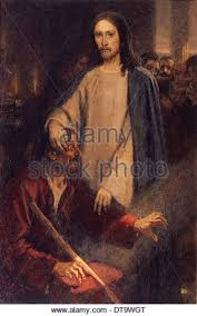 Blind Man At Bethsaida Jesus Healing The Blind Stock Photos U0026 Jesus Healing The Blind