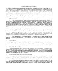 sample service agreement 11 examples in word pdf