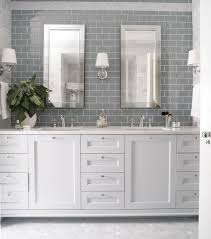 white grey bathroom ideas bathroom gray subway tiles grey bathroom ideas with white cabinets