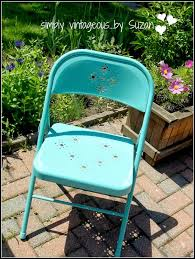 simply vintageous by suzan turquoise chairs from target we ve been digging out weeds from the brick work for days so don t look at that