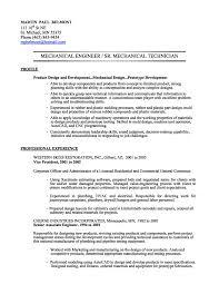 Entry Level Civil Engineering Resume Resume Format Mechanical Engineering