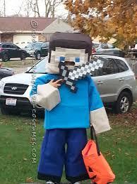 minecraft steve costume coolest minecraft steve costume