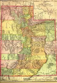 Map Of Nevada And Utah by Utah Maps Utah Digital Map Library Table Of Contents United