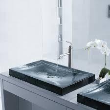 artist editions glass sinks by kohler design necessities
