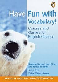 Annette Barnes Have Fun With Vocabulary Annette Barnes Etc Jean Hines