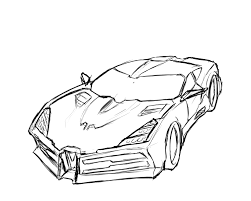 rough sketch concept car by ex trident on deviantart
