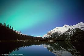 northern lights jasper national park star trails northern lights maligne lake landscape photography print