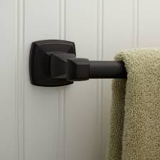 bathrooms design timpson towel bar dark oil rubbed bronze
