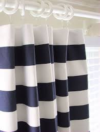 Red And White Striped Curtain Curtains Ideas Red And White Horizontal Striped Curtains