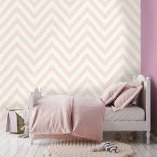Pink And White Striped Bedroom Walls Bedroom Design Light Pink Wallpaper Pink Striped Wallpaper Pink