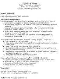 Sample Resume For Cna Job Cna Resume Objective Cna Resume Jennifer Swift Resume Templates