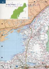 Map New York State by Northeast New York State Map