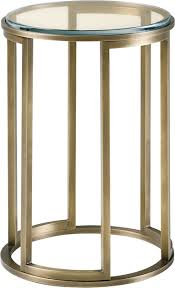Brass Accent Table Martini Table By Thomas Pheasant 7858 Baker Furniture
