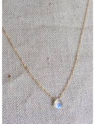 gold filled chain necklace images Rainbow moonstone gemstone gold filled chain necklace s for jpg