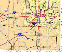 ohio map of cities grove city ohio oh 43123 profile population maps estate