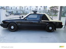 All Black Mustang 5 0 1992 Black Ford Mustang Lx 5 0 Police Interceptor Coupe 74095774
