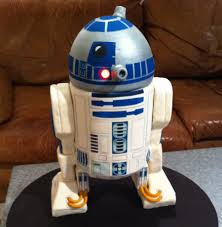 r2d2 lights up the day cakecentral