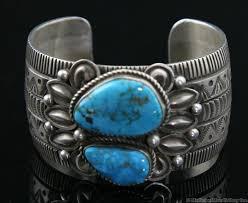 bracelet silver turquoise images Alex sanchez navajo turquoise and sterling silver bracelet size jpg