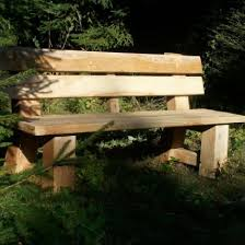 Rustic Oak Bench Bespoke Oak Garden Buildings Structures And Rustic Furniture