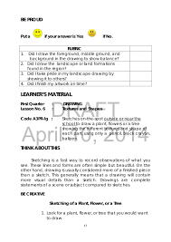 k to 12 grade 3 learning material in arts