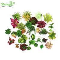 buy new design artificial aquarium plants different types of
