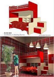 sketchup texture free sketchup bunk beds