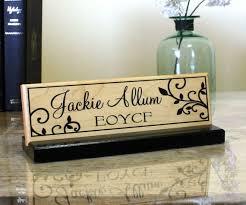plaque de bureau personnalisé bureau prénom plaque porte prénom personnalisé bureau nom