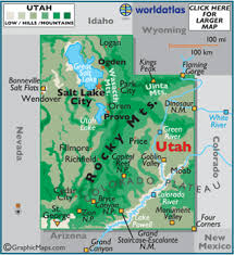 map usa utah utah map geography of utah map of utah worldatlas