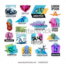 sports vector logo design template sport stock vector 248911642