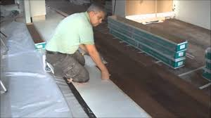 Youtube Laminate Flooring Installation Floating Engineered Hardwood Floor And Laminate Installation How