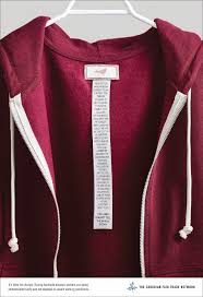 a tough history of workers written on clothing labels brandingmag