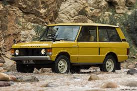 classic range rover classic icons gallery 1971 range rover and 1970 rr prototype