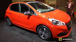 peugeot 208 2015 2016 peugeot 208 allure exterior and interior walkaround 2015