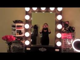 hollywood makeup mirror with lights vanity hollywood lighted broadway mirror review youtube