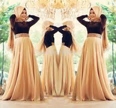 robe de mariã e pour femme voilã e robe manche longue pour femme voilee oumal robe