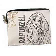 disney princess rapunzel pouch white colour