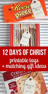 Christian Halloween Party Ideas Simple 12 Days Of Christ Christmas Gift Idea So Festive