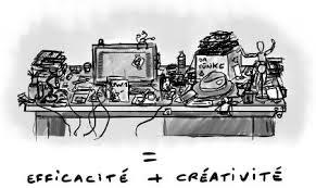 dessin de bureau ne range pas ton bureau le bordel est une forme d organisation