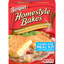 banquet home style bakes southwestern style sausage gravy and