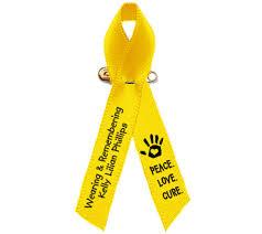 memorial ribbons cancer awareness ribbons memorial funeral ribbon