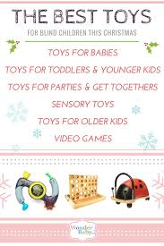 Color Blind Children The Best Christmas Toys For Blind Children Wonderbaby Org